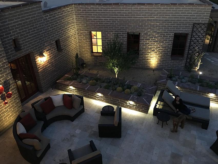 Scottsdale landscape lighting